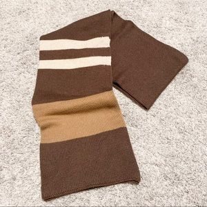 Gap Brown Stripe Scarf